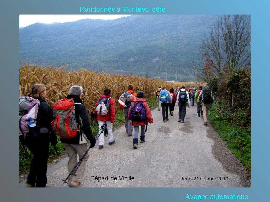 Randonnée à Montsec Isère