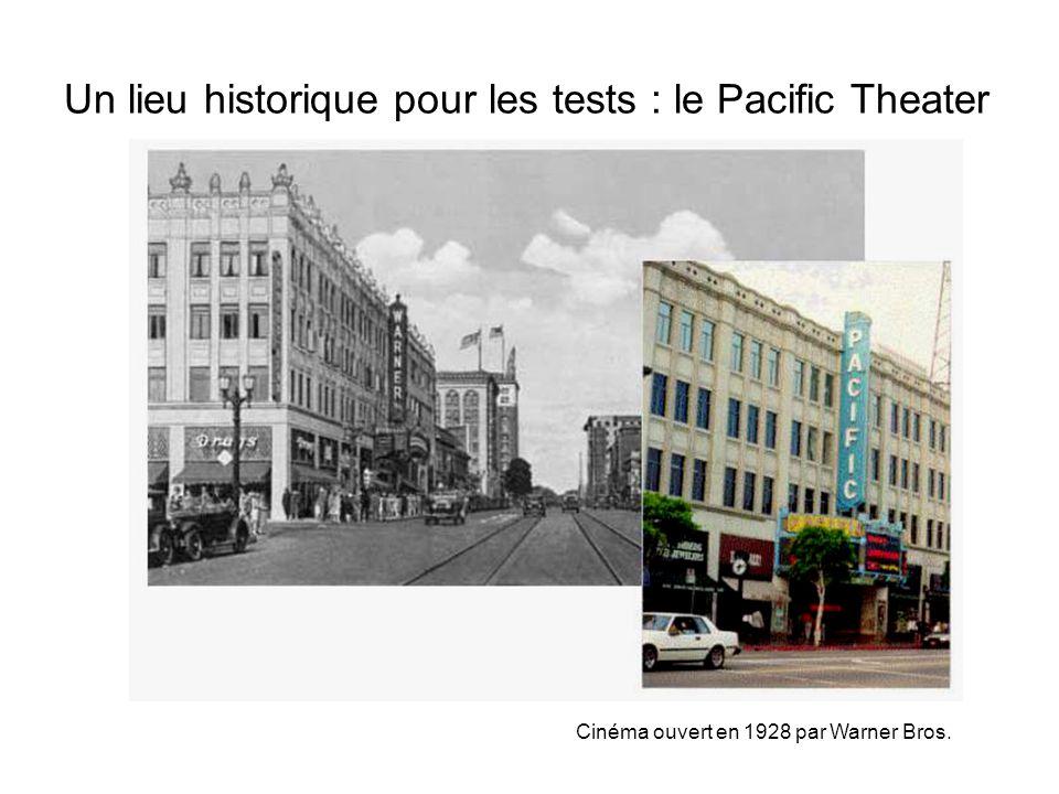 Un lieu historique pour les tests : le Pacific Theater