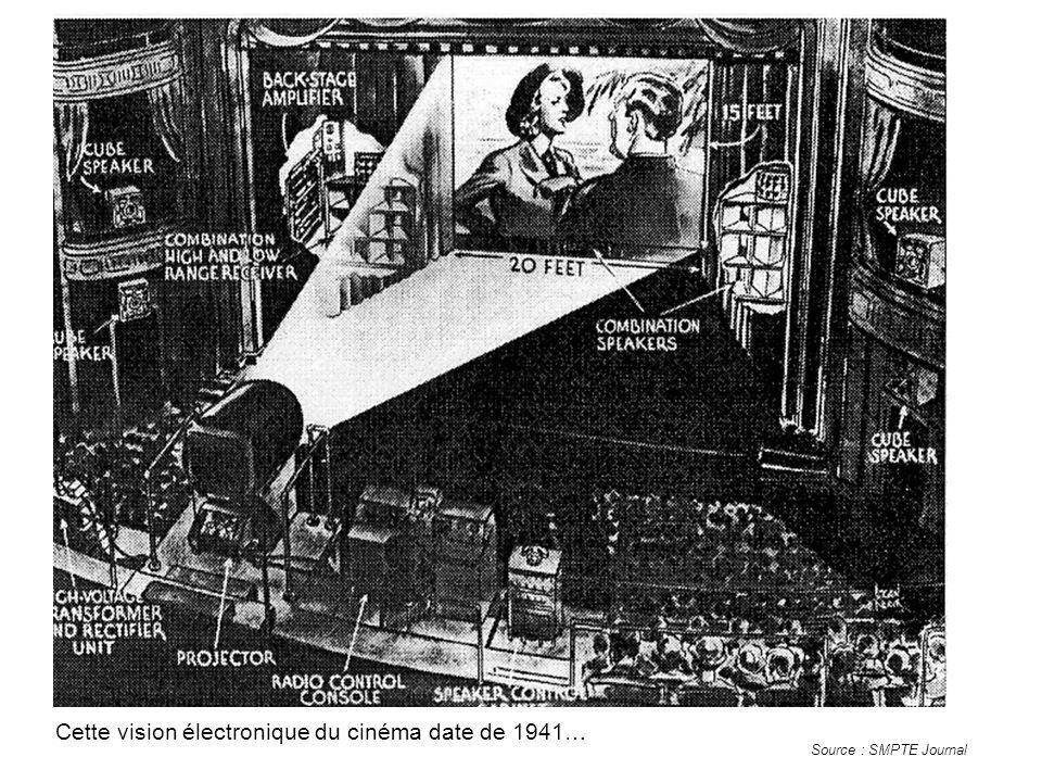 Cette vision électronique du cinéma date de 1941…