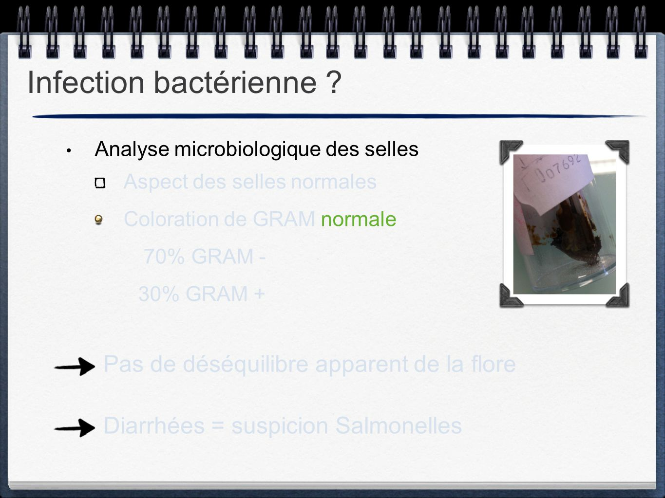 Infection bactérienne