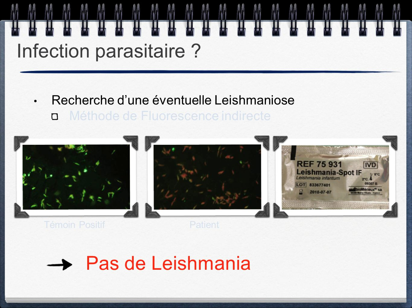 Infection parasitaire