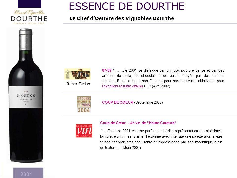 ESSENCE DE DOURTHE 2001 Le Chef d'Oeuvre des Vignobles Dourthe