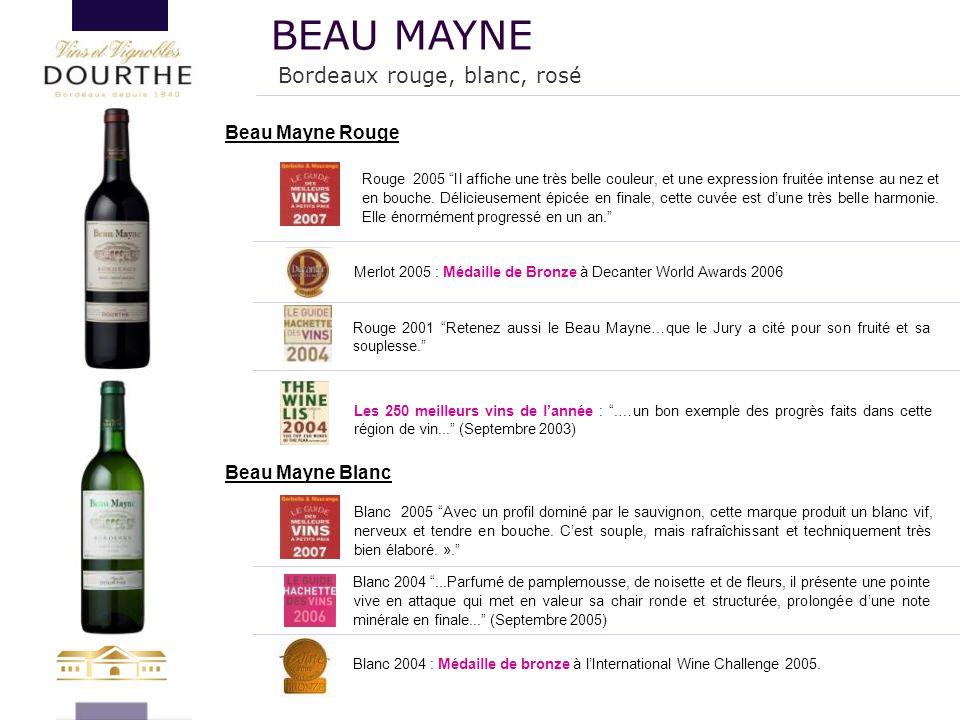 BEAU MAYNE Bordeaux rouge, blanc, rosé Beau Mayne Rouge
