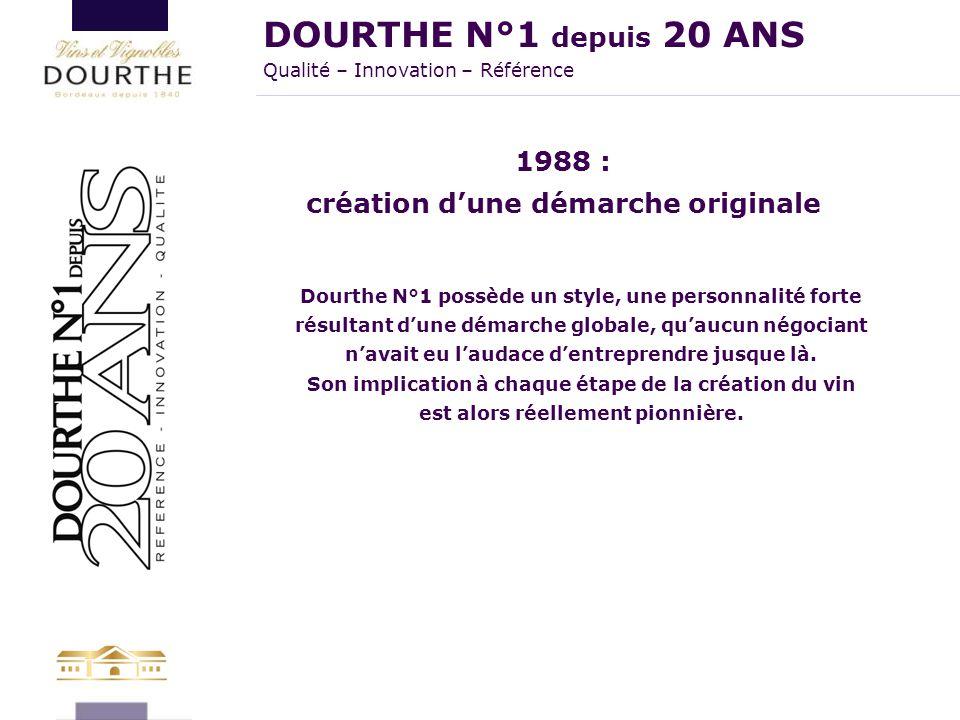 DOURTHE N°1 depuis 20 ANS Qualité – Innovation – Référence