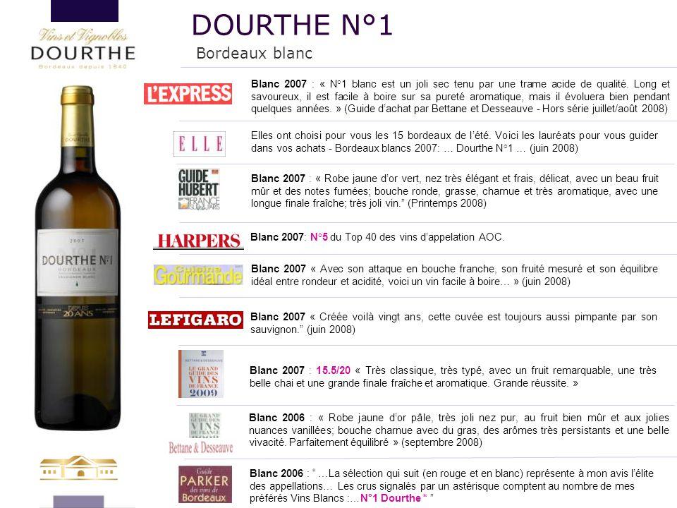 DOURTHE N°1 Bordeaux blanc 133