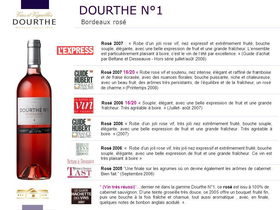 DOURTHE N°1 Bordeaux rosé