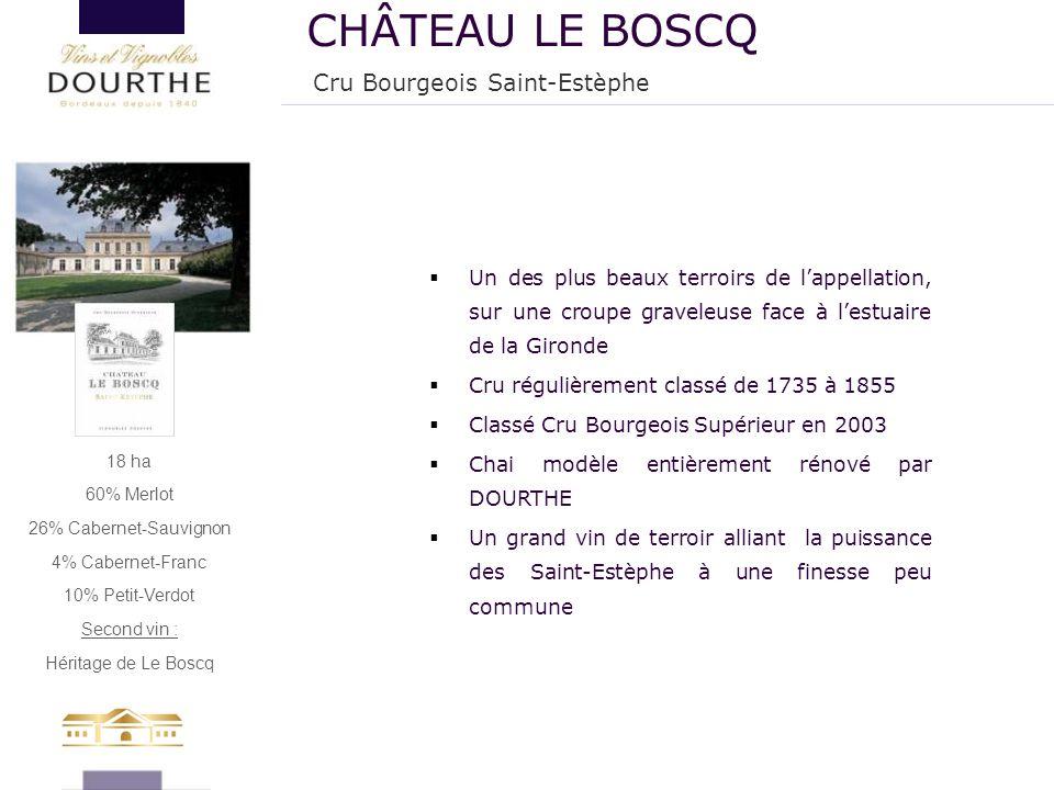 CHÂTEAU LE BOSCQ Cru Bourgeois Saint-Estèphe