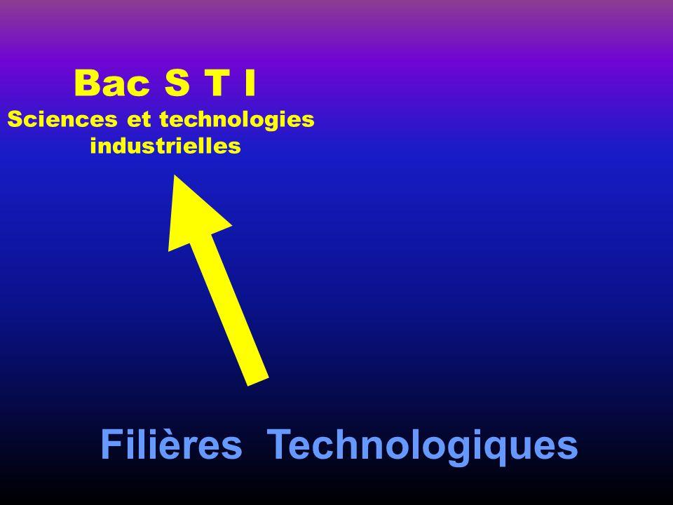 Filières Technologiques