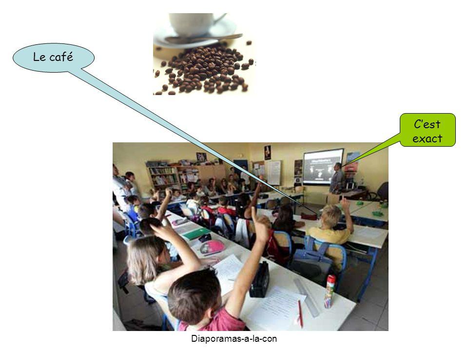 Le café C'est exact Diaporamas-a-la-con
