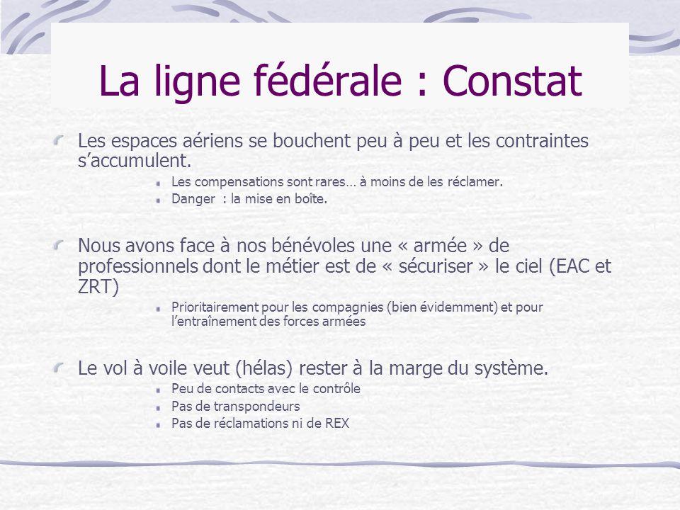 La ligne fédérale : Constat