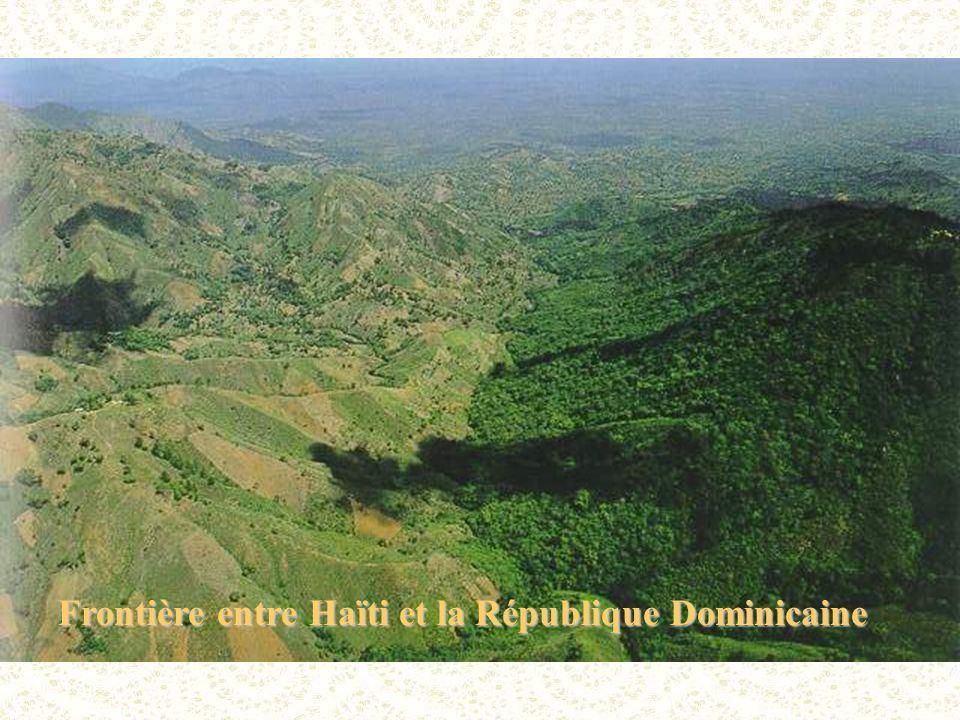 Frontière entre Haïti et la République Dominicaine