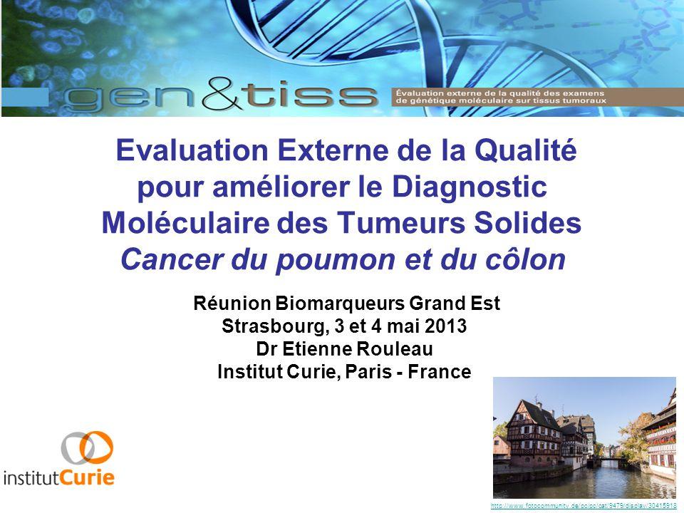 Réunion Biomarqueurs Grand Est Institut Curie, Paris - France