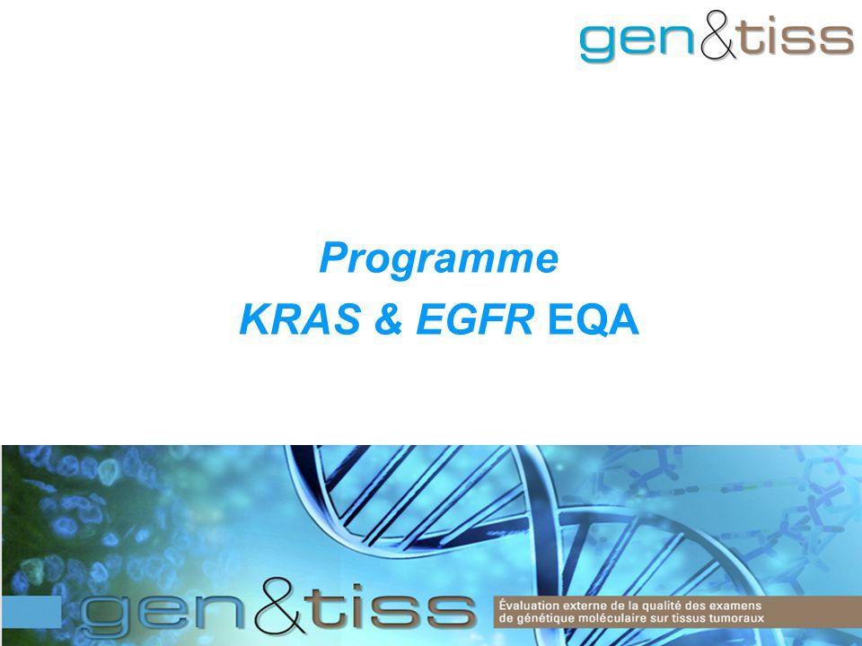 Programme KRAS & EGFR EQA
