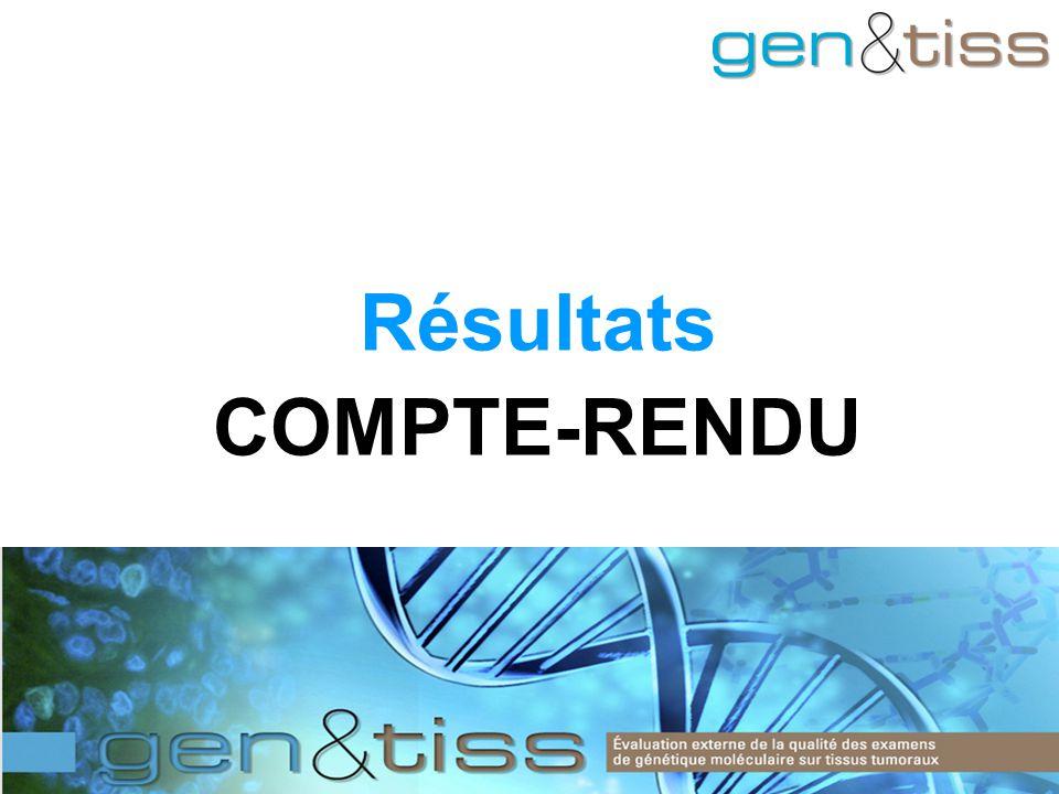 Résultats COMPTE-RENDU