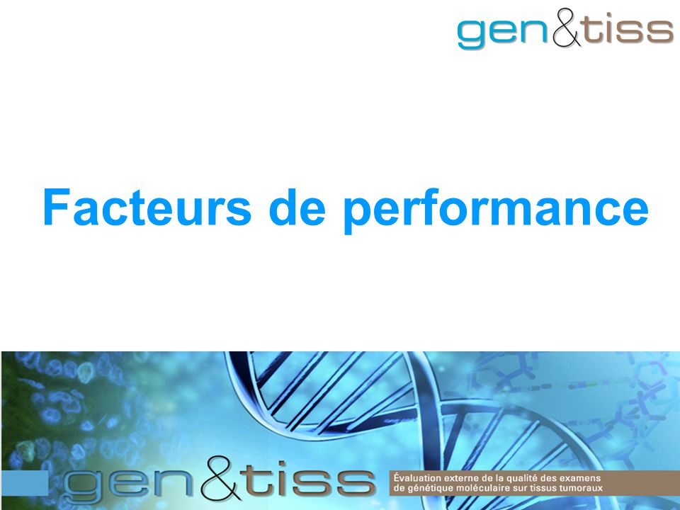 Facteurs de performance