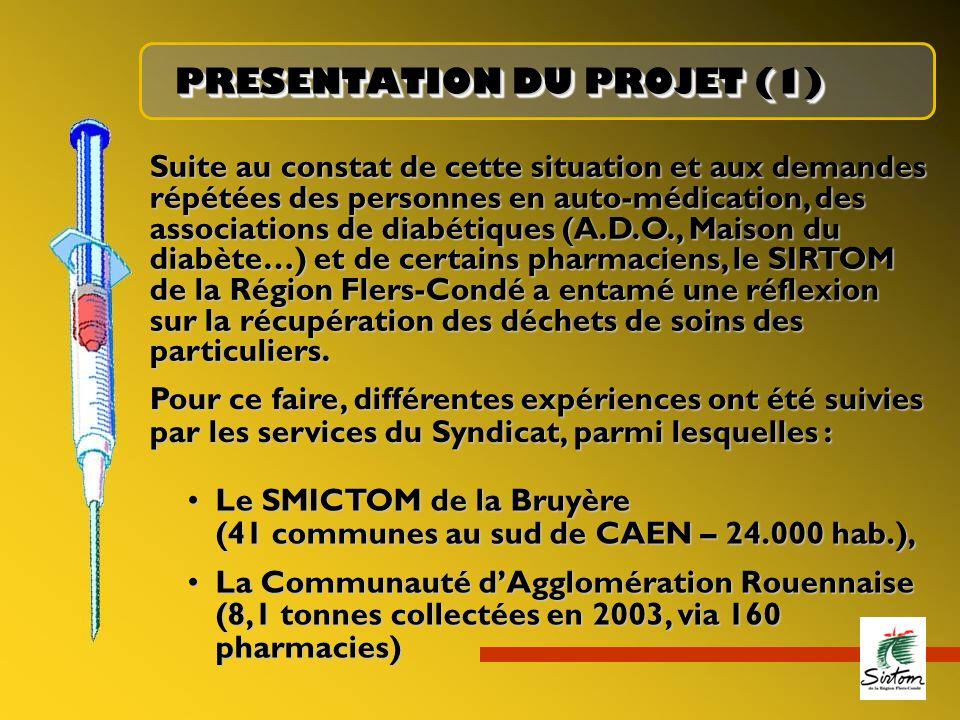 PRESENTATION DU PROJET (1)