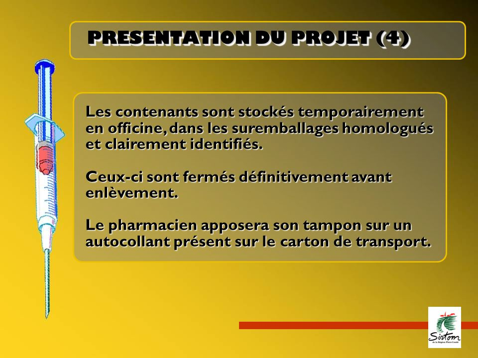 PRESENTATION DU PROJET (4)