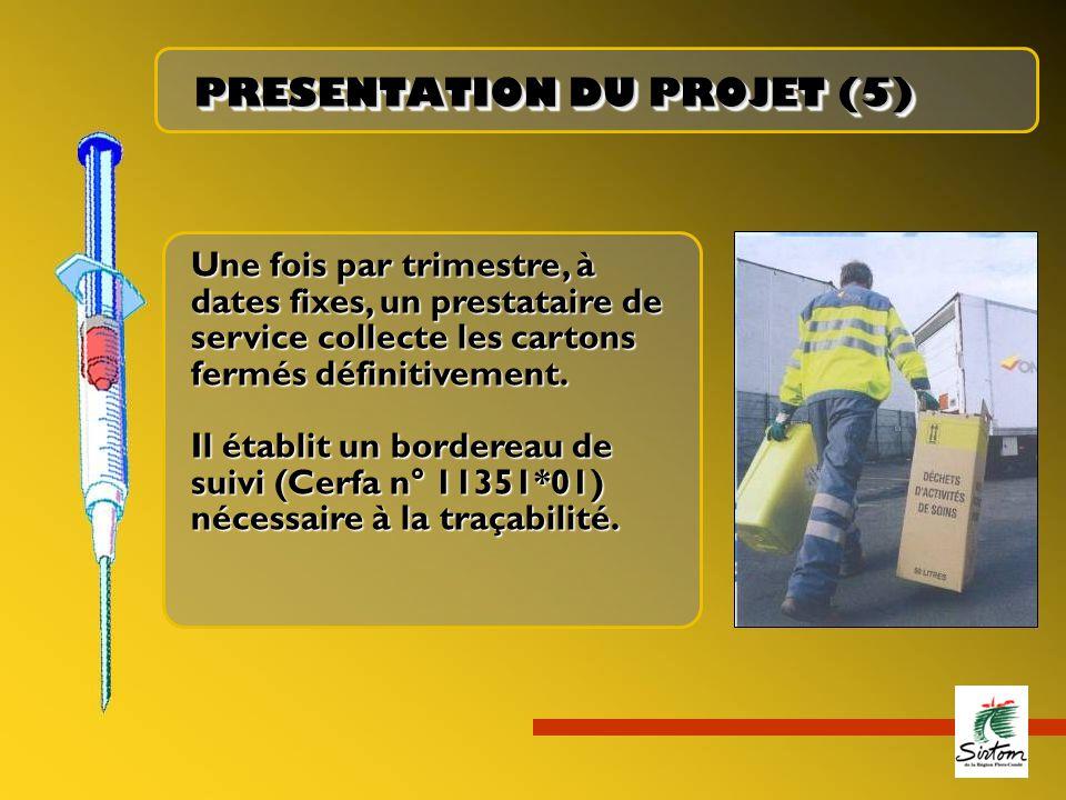 PRESENTATION DU PROJET (5)