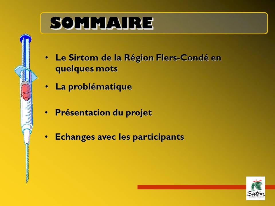 SOMMAIRE Le Sirtom de la Région Flers-Condé en quelques mots