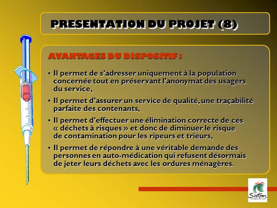 PRESENTATION DU PROJET (8)