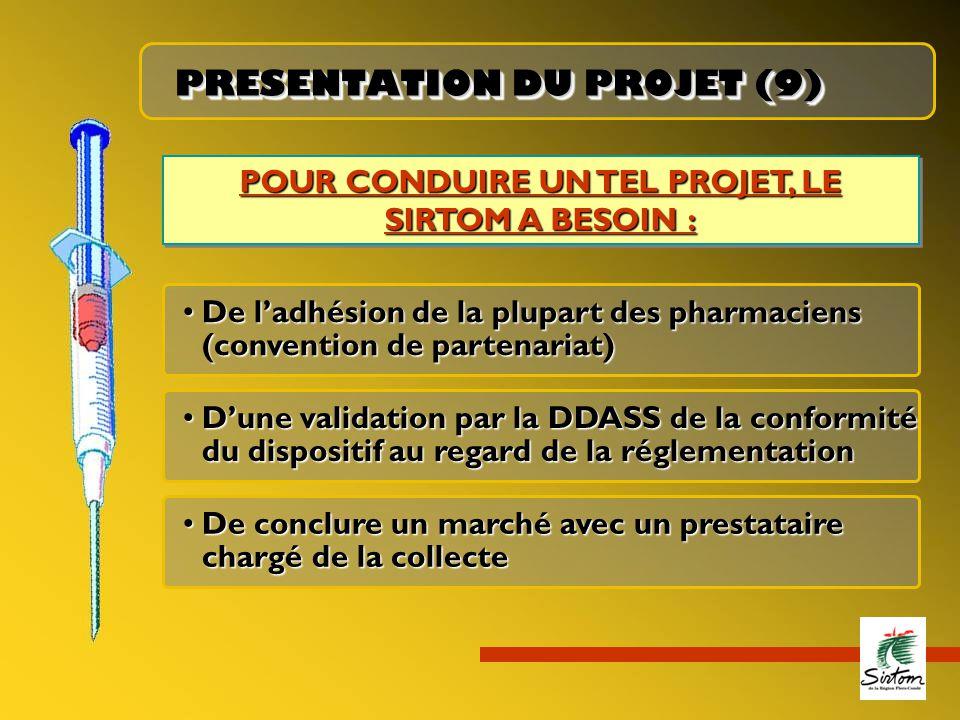 PRESENTATION DU PROJET (9)
