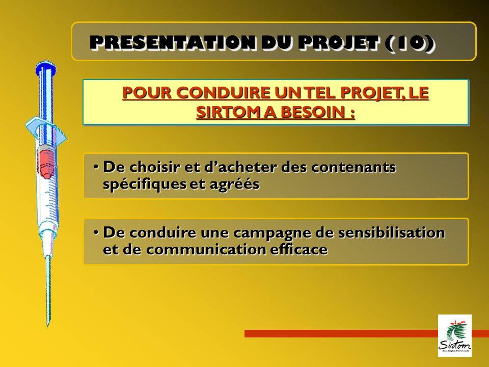 PRESENTATION DU PROJET (10)