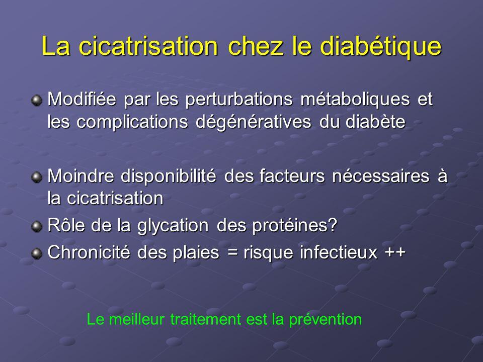 La cicatrisation chez le diabétique