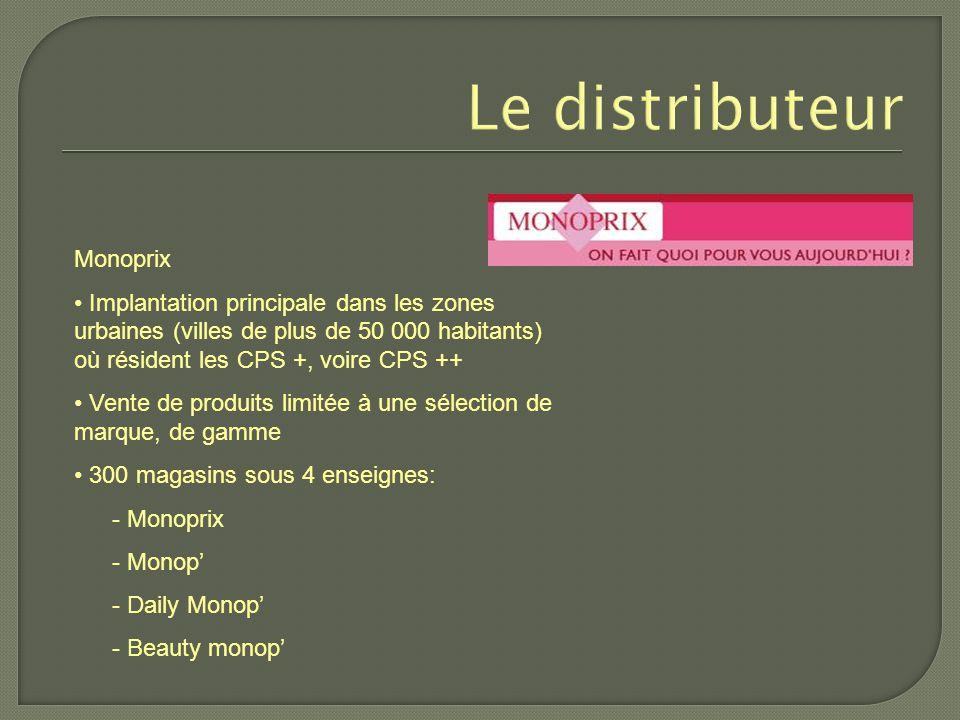 Le distributeur Monoprix