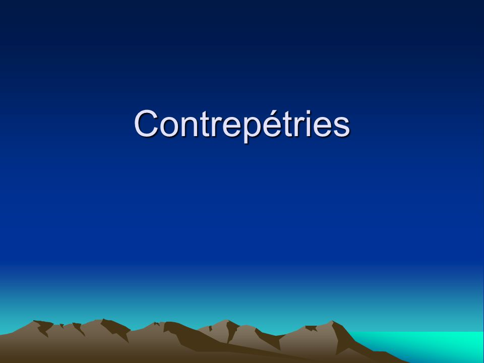 Contrepétries