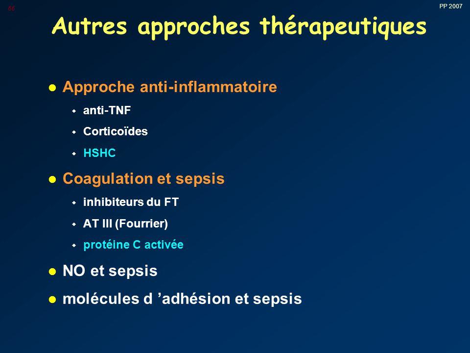 Autres approches thérapeutiques