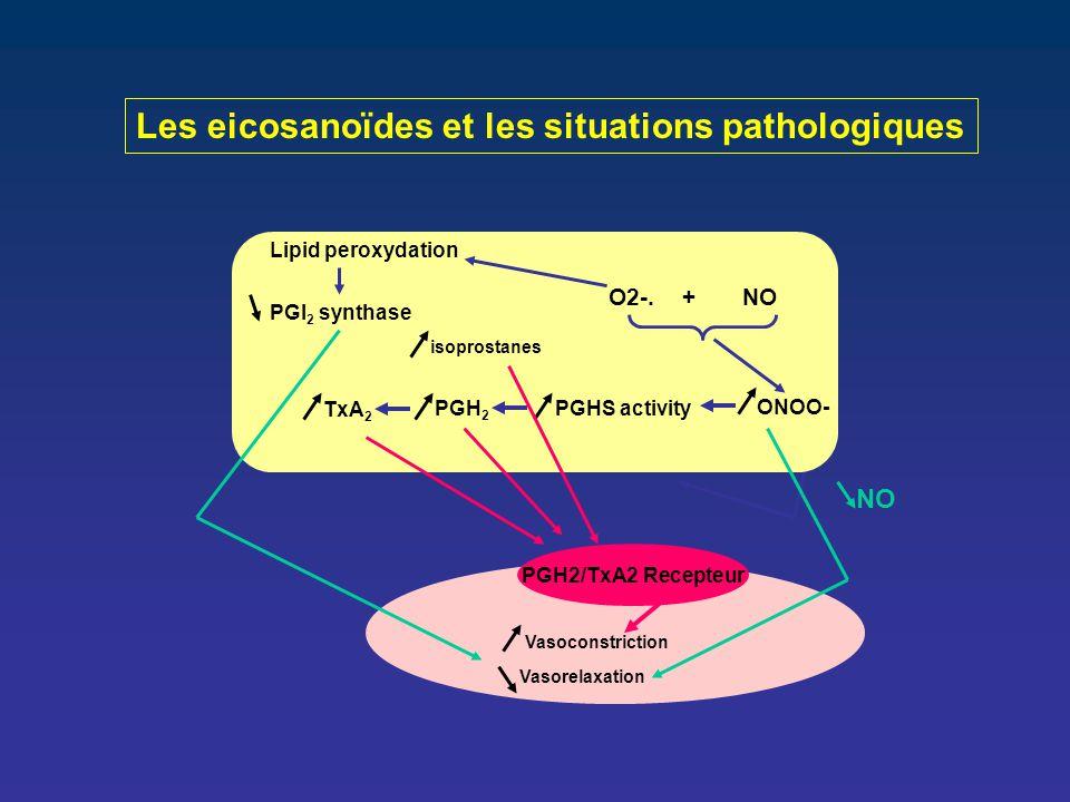 Les eicosanoïdes et les situations pathologiques