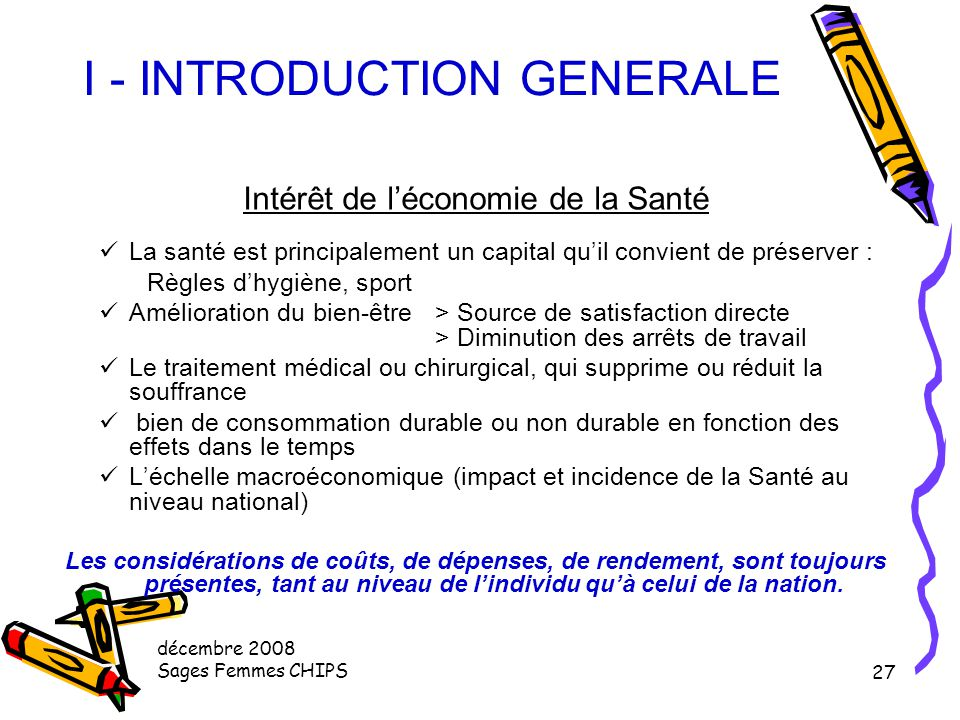 I - INTRODUCTION GENERALE