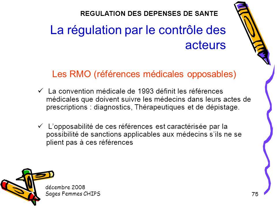 La régulation par le contrôle des acteurs