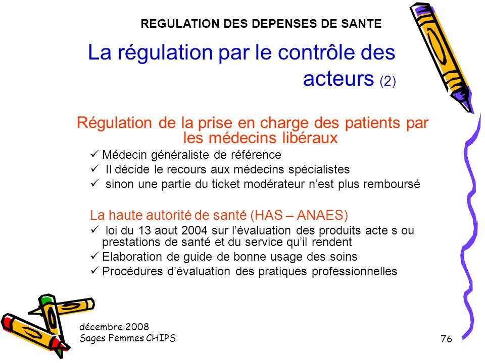 La régulation par le contrôle des acteurs (2)