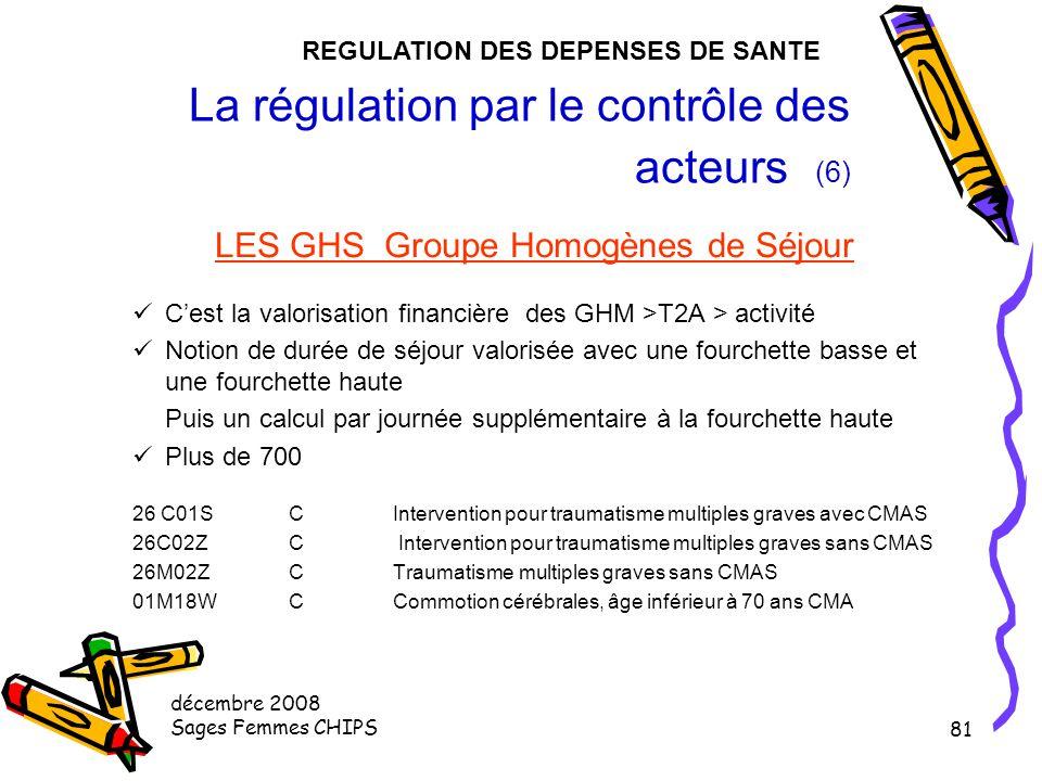 La régulation par le contrôle des acteurs (6)