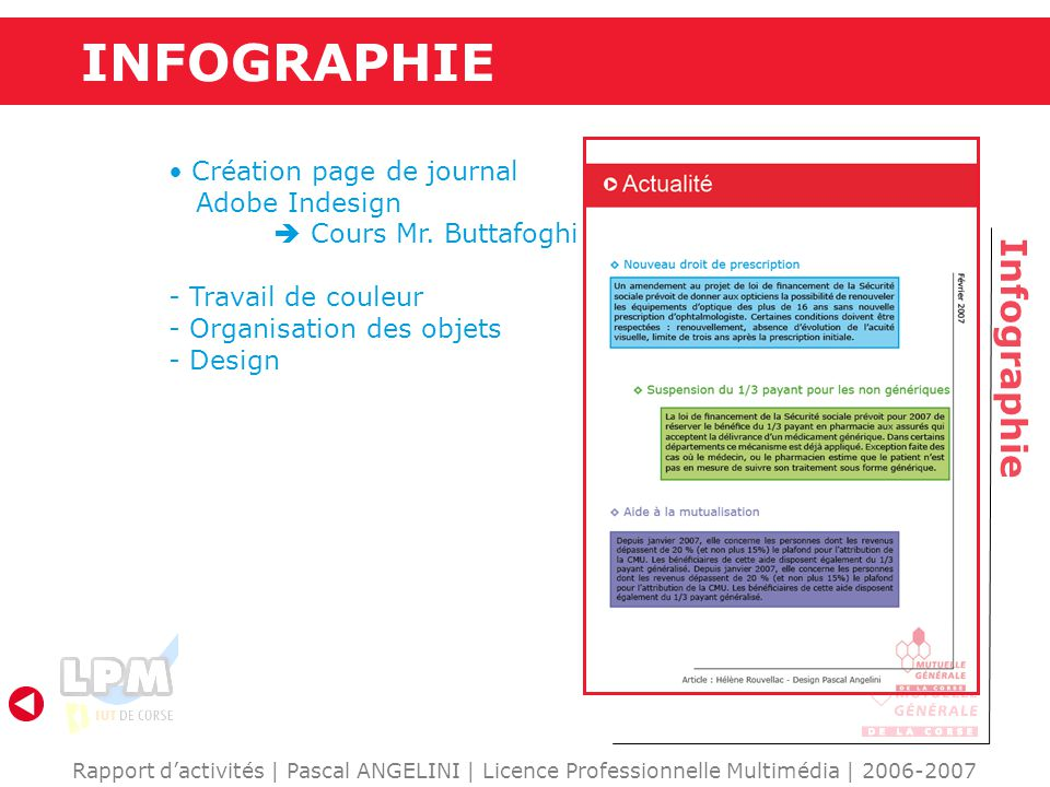 INFOGRAPHIE Infographie Création page de journal Adobe Indesign