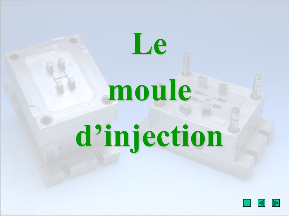 Le moule d'injection