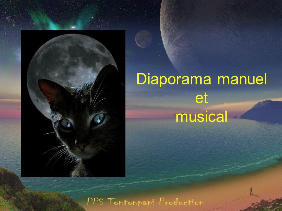 Diaporama manuel et musical