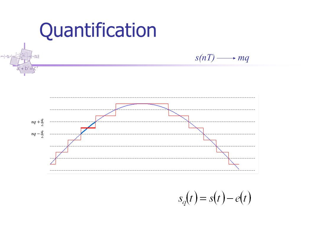 Quantification s(nT) mq