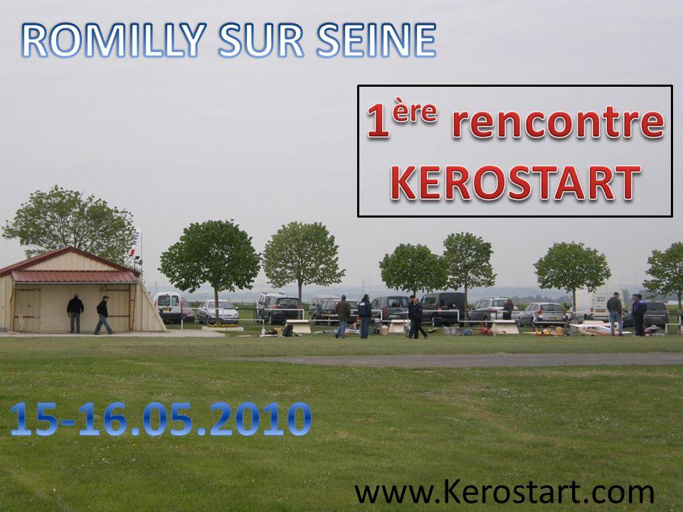 ROMILLY SUR SEINE 1ère rencontre KEROSTART 15-16.05.2010