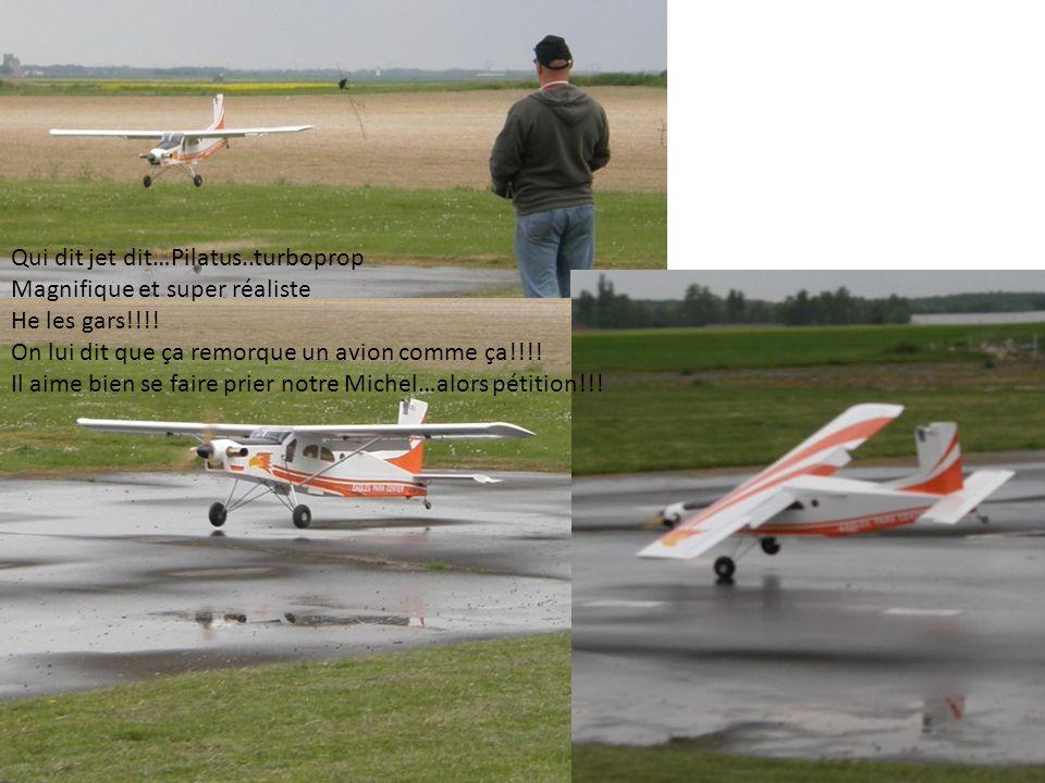 Qui dit jet dit…Pilatus..turboprop