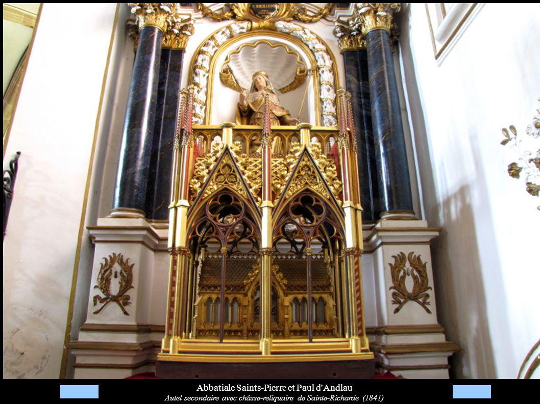 Abbatiale Saints-Pierre et Paul d Andlau