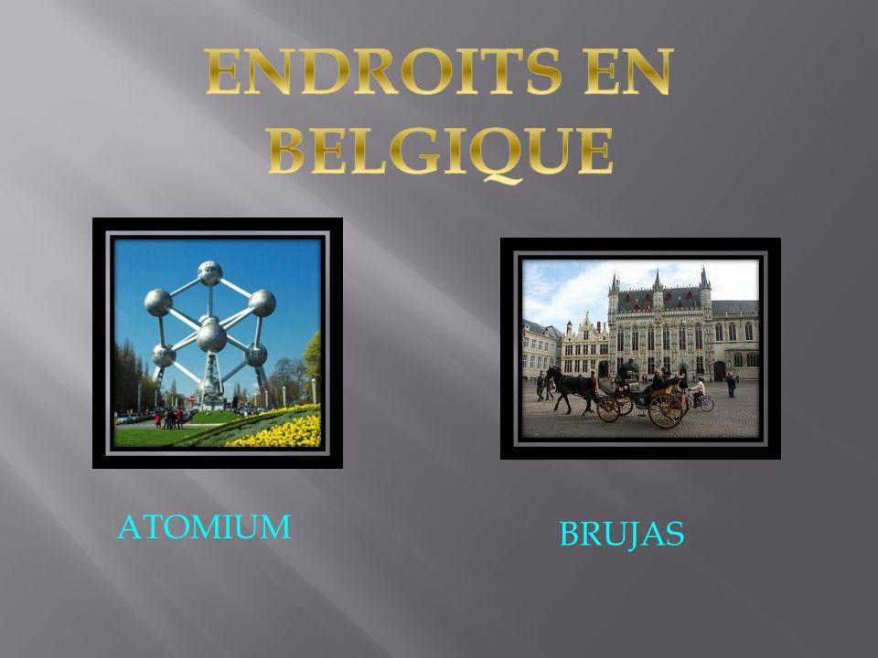 ENDROITS EN BELGIQUE ATOMIUM BRUJAS