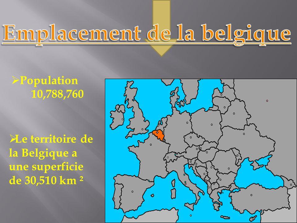 Emplacement de la belgique