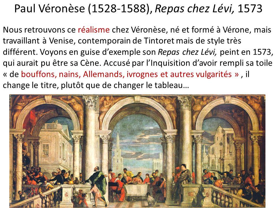 Paul Véronèse (1528-1588), Repas chez Lévi, 1573