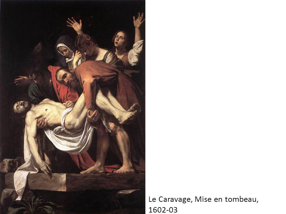 Le Caravage, Mise en tombeau,