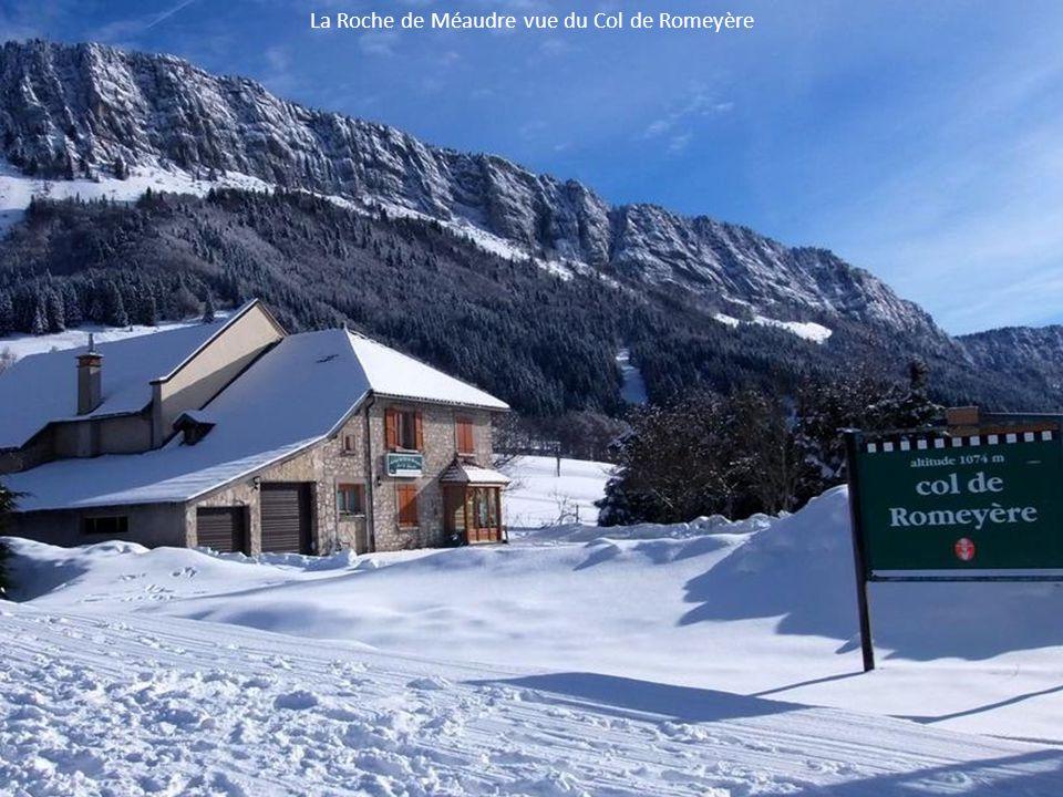 La Roche de Méaudre vue du Col de Romeyère
