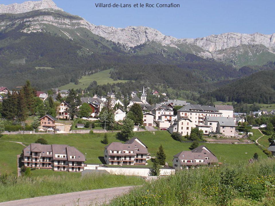 Villard-de-Lans et le Roc Cornafion