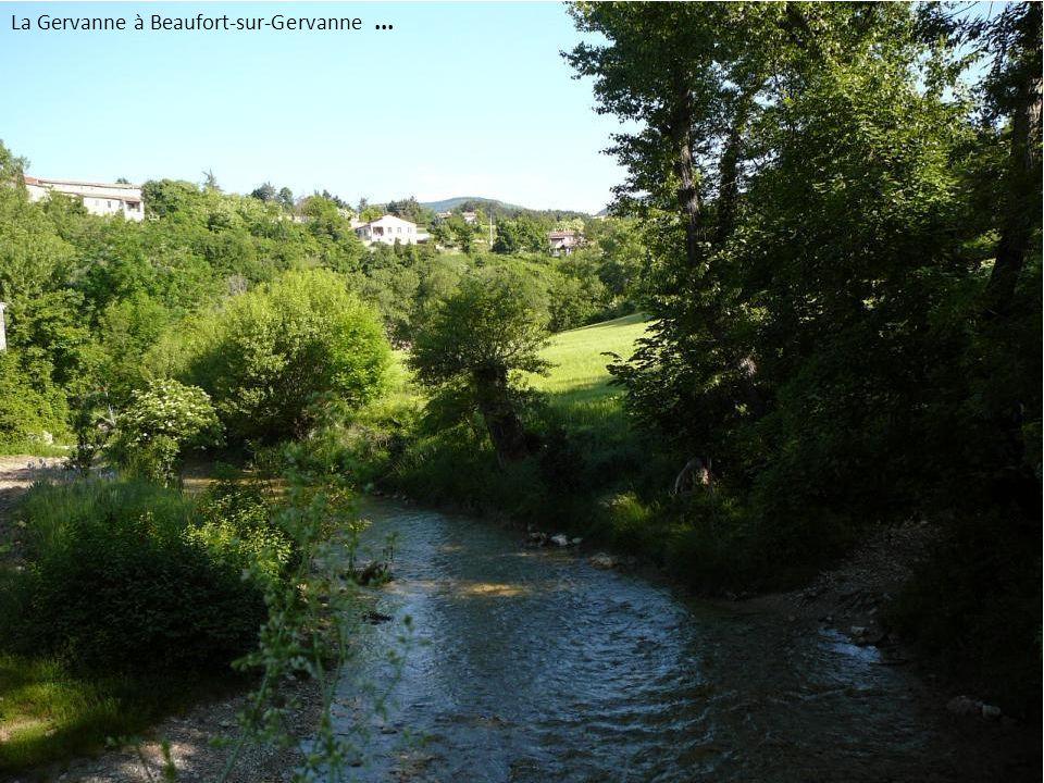 La Gervanne à Beaufort-sur-Gervanne ...