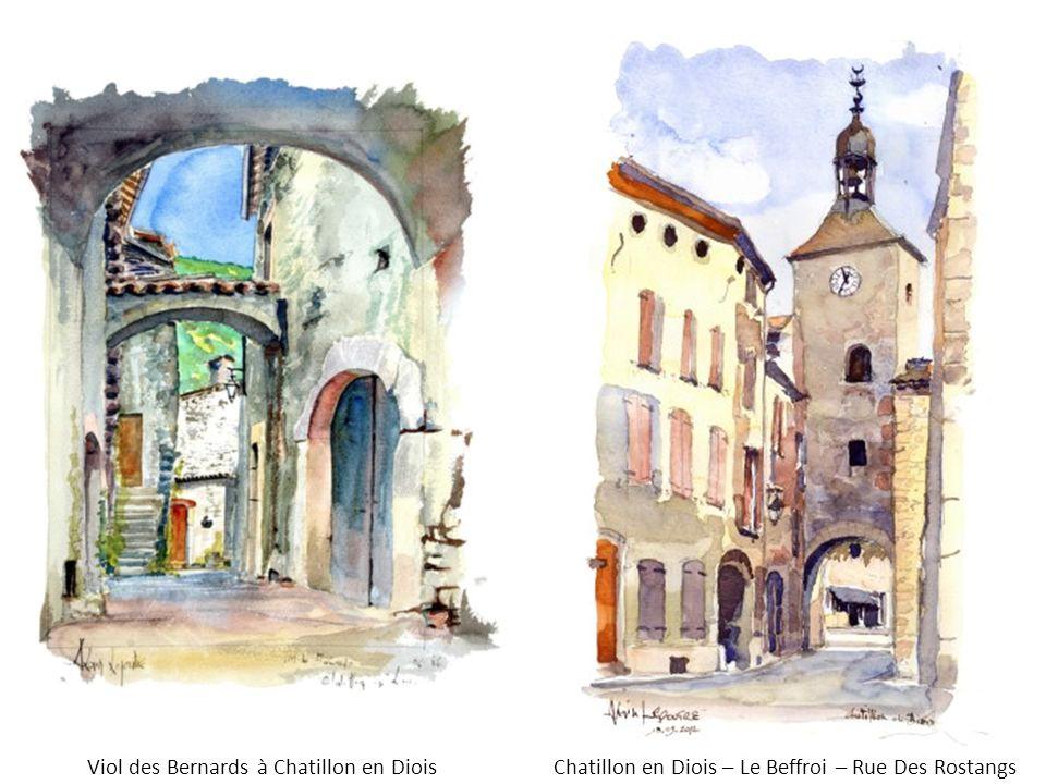 Viol des Bernards à Chatillon en Diois